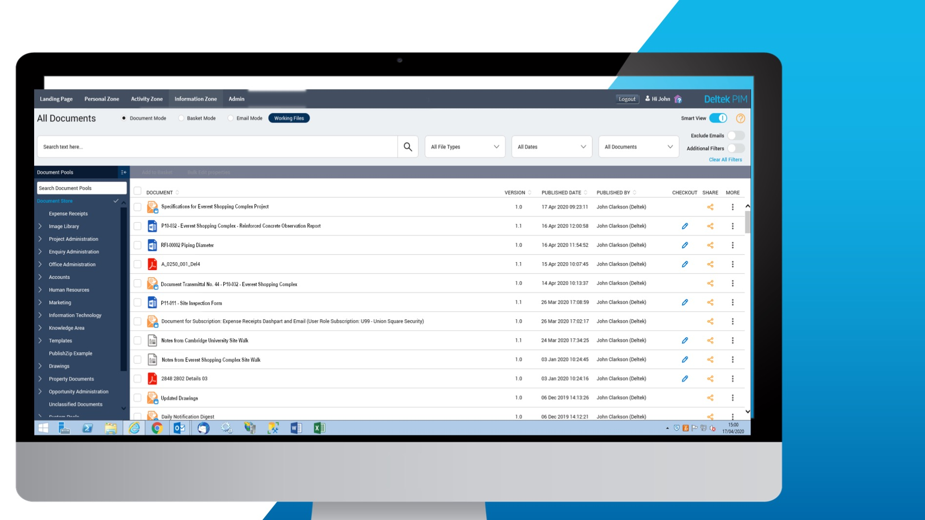 FIND DOCUMENTS QUICKLY