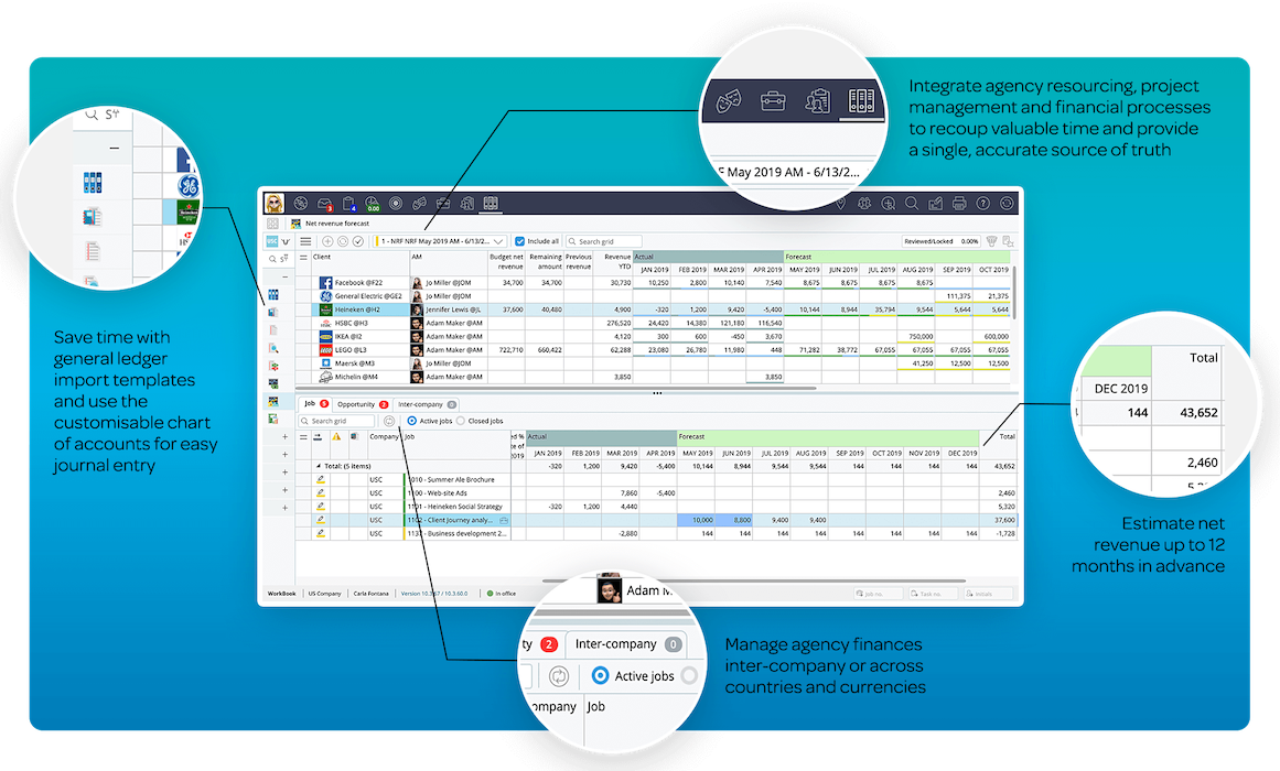FINANCE & ACCOUNTINGGet full visibility into agency performance by integrating projects and financials into a single source of truth.